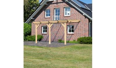 KARIBU Terrassendach »Classic Gr. B«, Breite 402 cm, verschiedene Tiefen kaufen