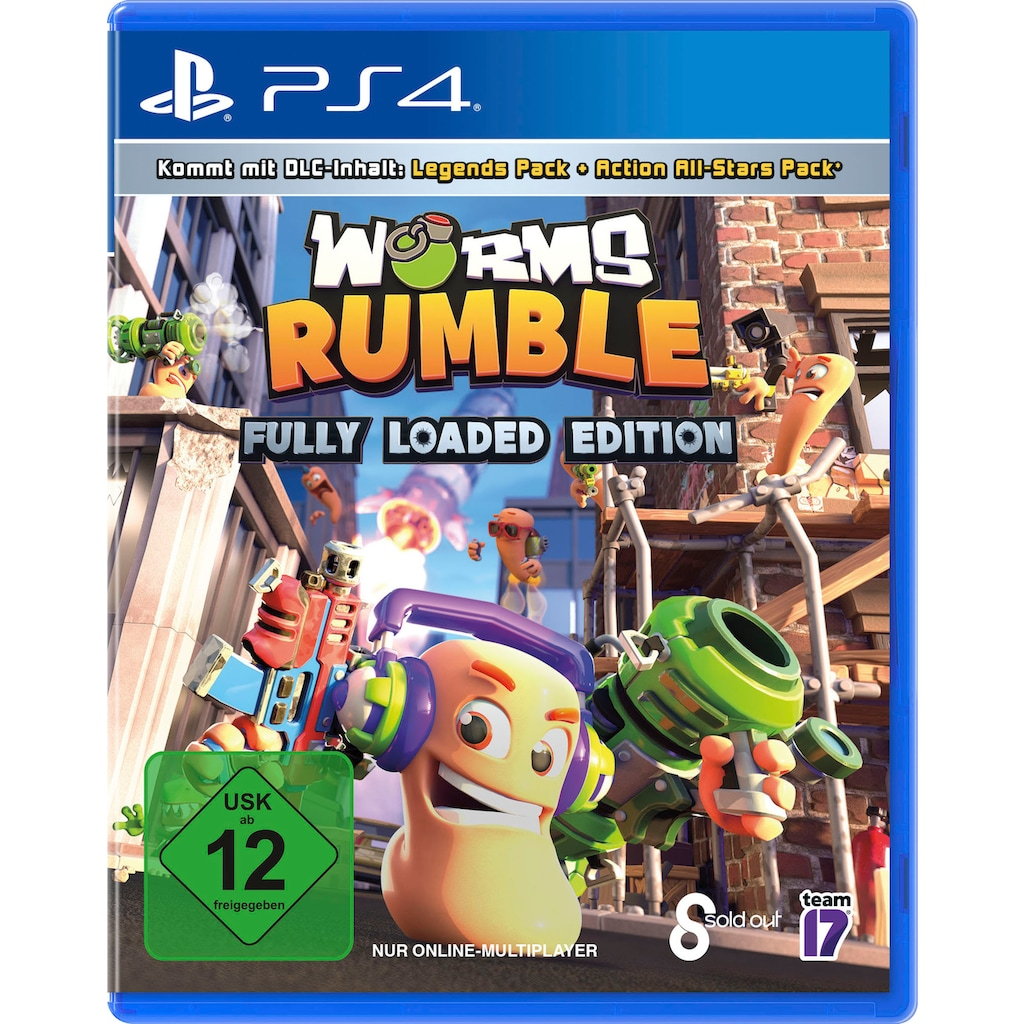 PlayStation 4 Spiel »Worms Rumble«, PlayStation 4