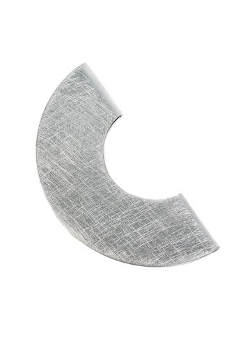 DeMarie Brosche »Aluminium gebürstet + gewolkt« kaufen