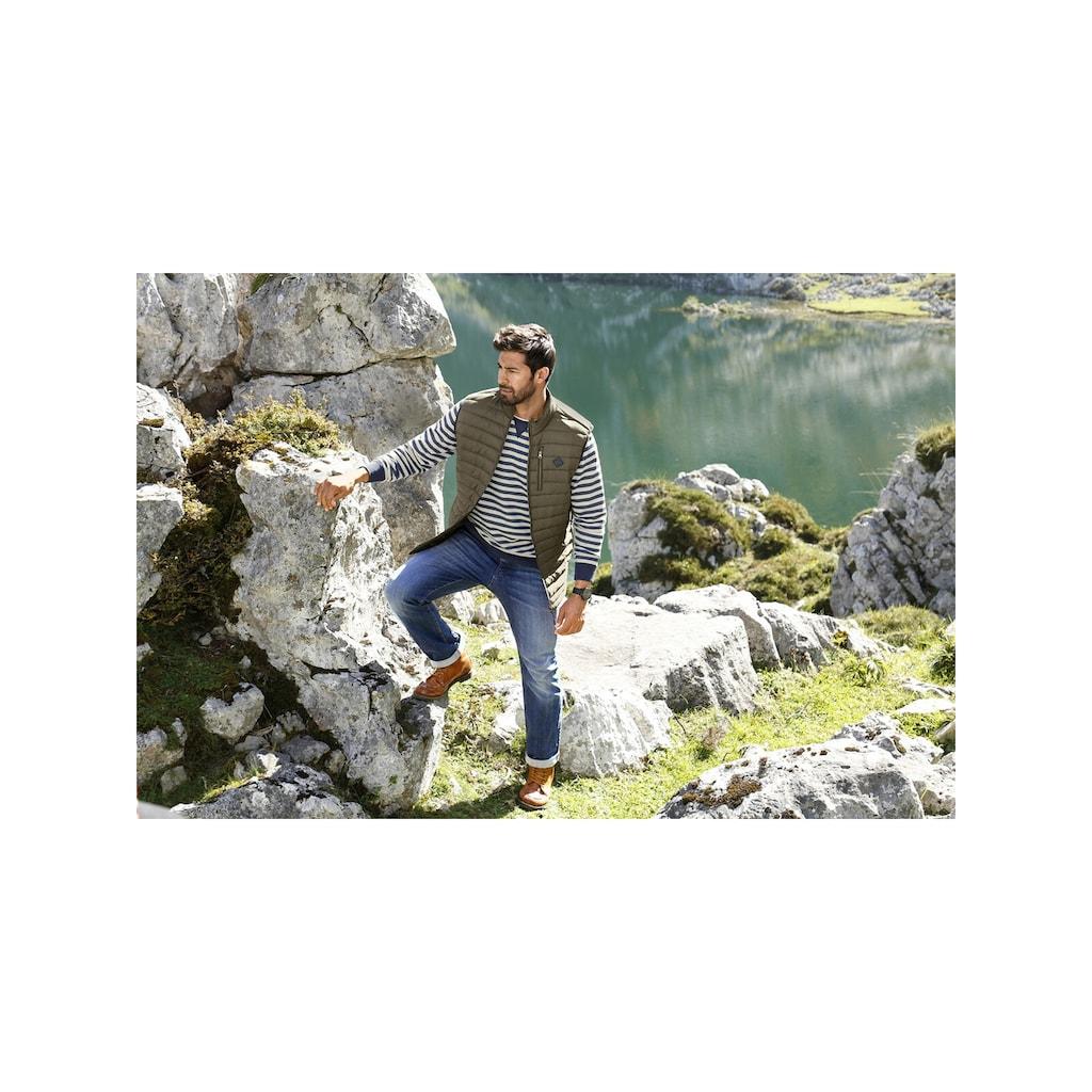 Jan Vanderstorm Steppweste »STEINMAR«, mit wärmender Wattierung