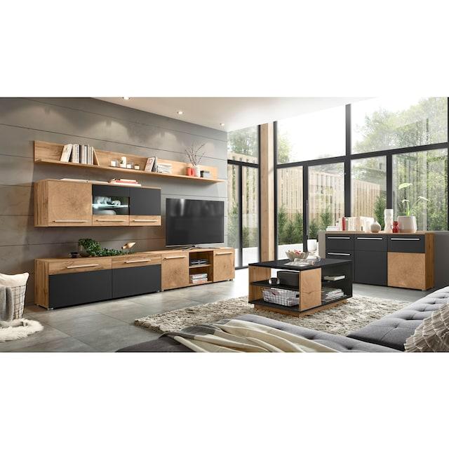 Places of Style Wohnwand »Locarno« (Set, 5-tlg)