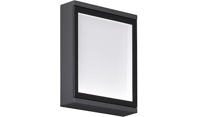 WOFI Außen-Wandleuchte »HALL«, LED-Modul, Warmweiß kaufen