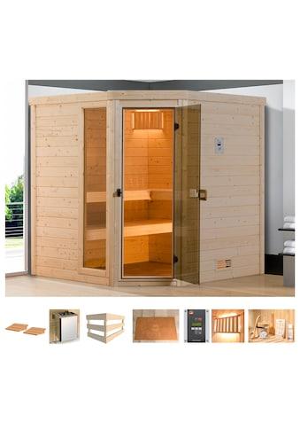 weka Sauna »Arendal 2«, 7,5 kW Bio-Kombiofen mit ext. Steuerung kaufen
