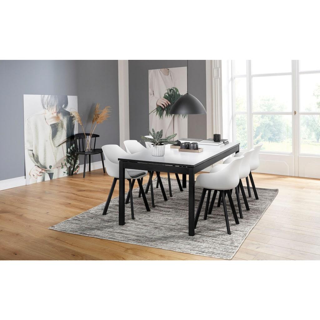 andas Stuhl »Tanja«, mit einem schönen weichen Sitzkissenpolster, Sitzhöhe 50 cm