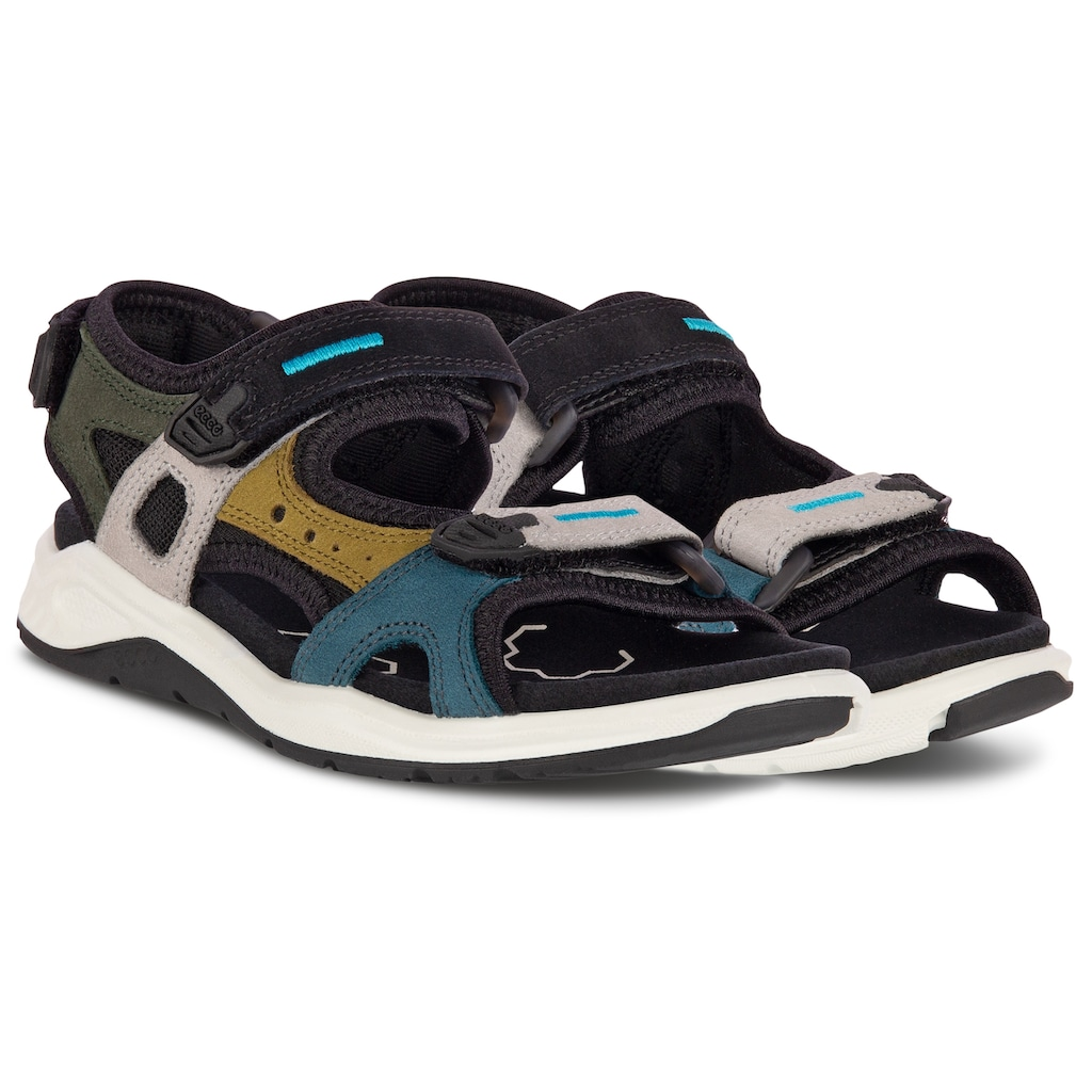 Ecco Sandale »X-TRINSIC«, in mehrfarbiger Optik