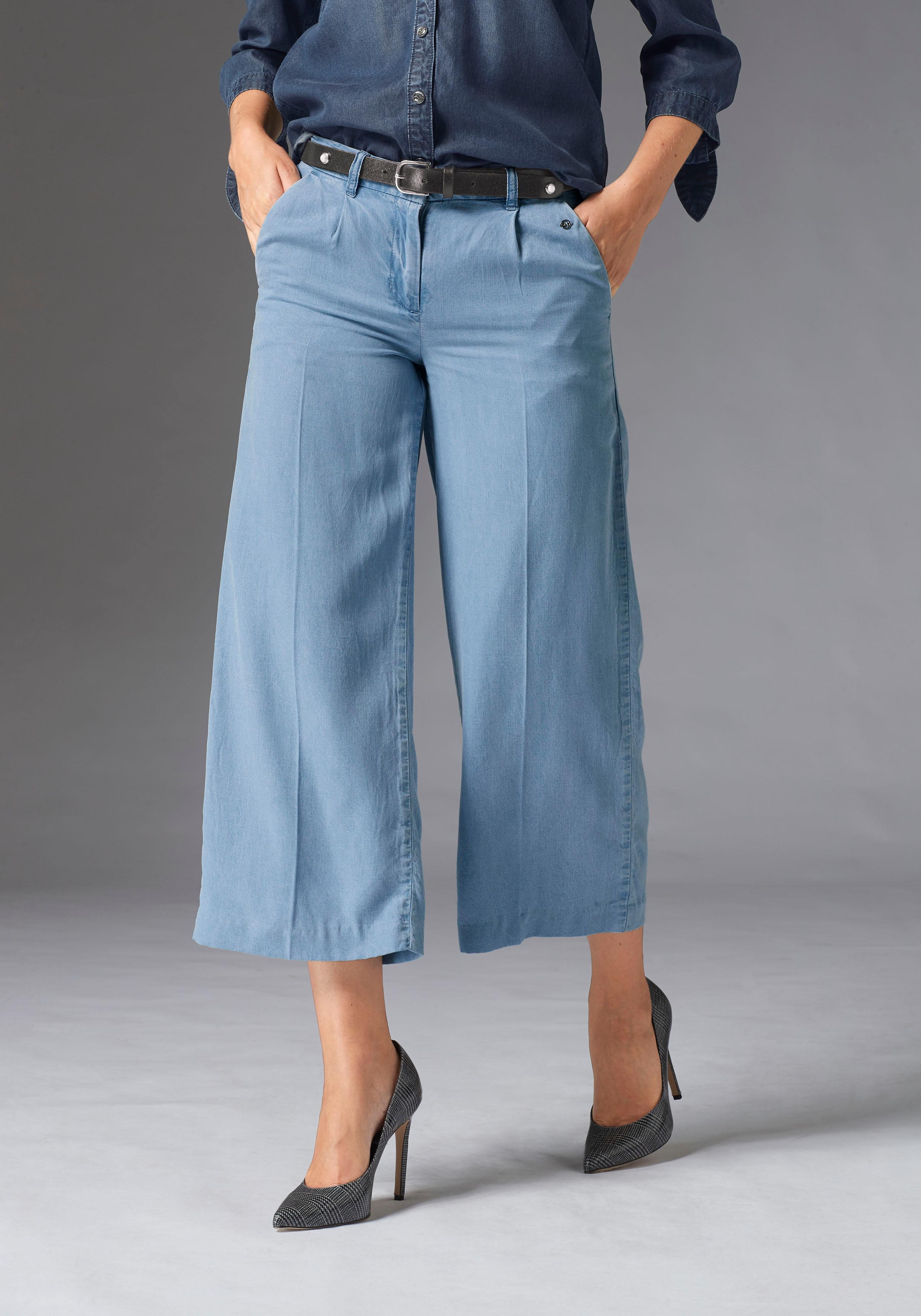 GUIDO MARIA KRETSCHMER Culotte | Bekleidung > Jeans > Weite Jeans | Blau | Guido Maria Kretschmer
