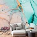 Consalnet Papiertapete »Zerbrochenes Glas«, geometrisch-Farbverlauf
