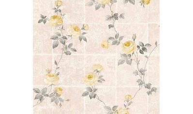 living walls Vliestapete »Château«, floral-geblümt, mit Rosen, romantisch kaufen