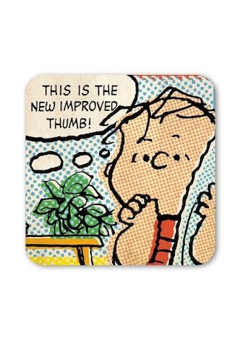LOGOSHIRT Untersetzer mit lustigem Peanuts-Comicausschnitt kaufen