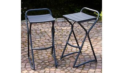 LECO Hocker , (2er Set), Kunststoff, grau kaufen