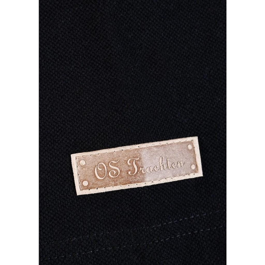 OS-Trachten Trachtenshirt, mit Stickerei