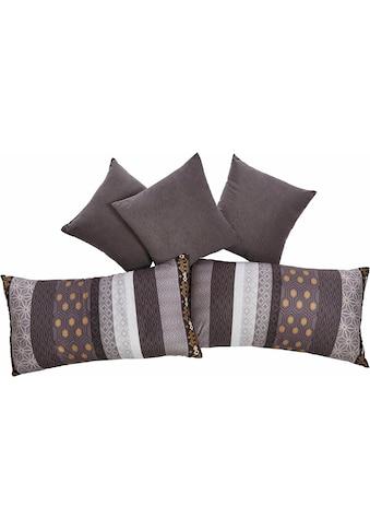 Westfalia Schlafkomfort Dekokissen, 5-teilig kaufen