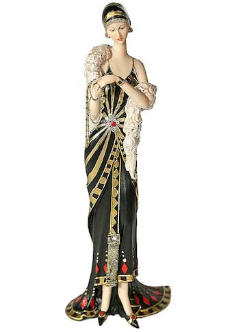 Casa Collection by Jänig Dekofigur »elegante Dame stehend mit Kette in der Hand,... kaufen