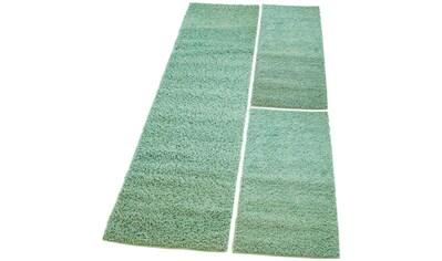 Carpet City Bettumrandung »Pastell Shaggy 300«, pastell Farben, Wohnzimmer kaufen