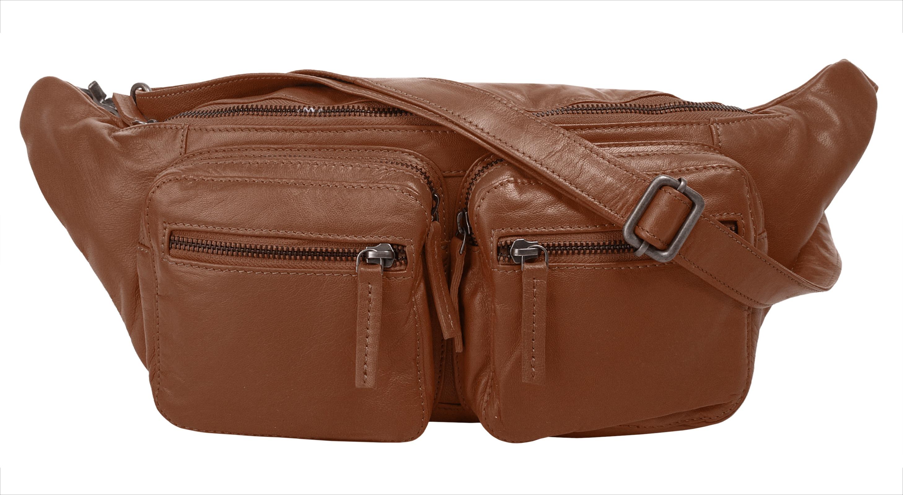 WouWou Gürteltasche braun Damen Handtaschen Taschen
