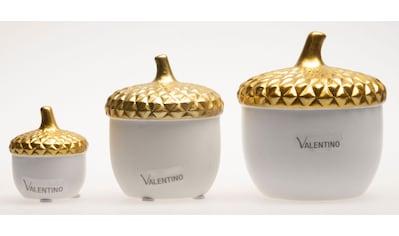 VALENTINO Wohnideen Dekoobjekt »Eichel Liv«, aus Keramik kaufen