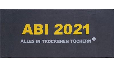 Egeria Strandtuch »Abi 2021«, (1 St.), mit tollem Schriftzug kaufen