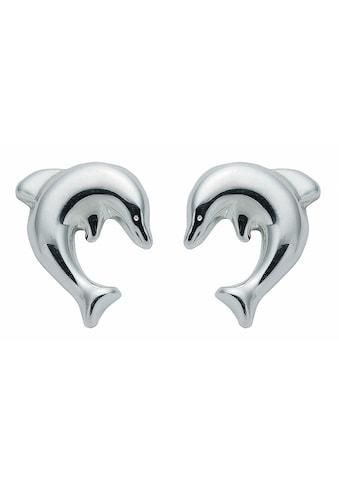 Adelia´s Paar Ohrhänger »925 Silber Ohrringe / Ohrstecker Delphin«, 925 Sterling... kaufen