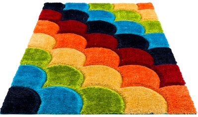 Lüttenhütt Kinderteppich »Fiodor«, rechteckig, 43 mm Höhe, mit 3-D Effekt, Kinder- und... kaufen