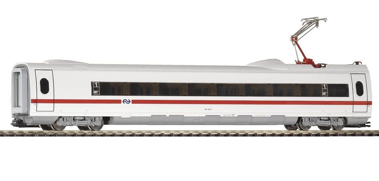 """PIKO Personenwagen """"ICE 3 Personenwaggon 1Kl mit Stromabnehmer NS"""" Spur H0 Kindermode/Spielzeug/Autos, Eisenbahn & Modellbau/Modelleisenbahnen/Loks & Wägen"""