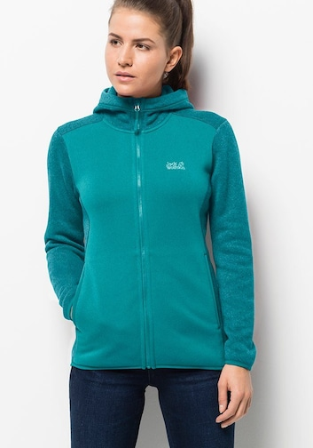 Jack Wolfskin ELK HOODED JACKET WOMEN Fleecejacke