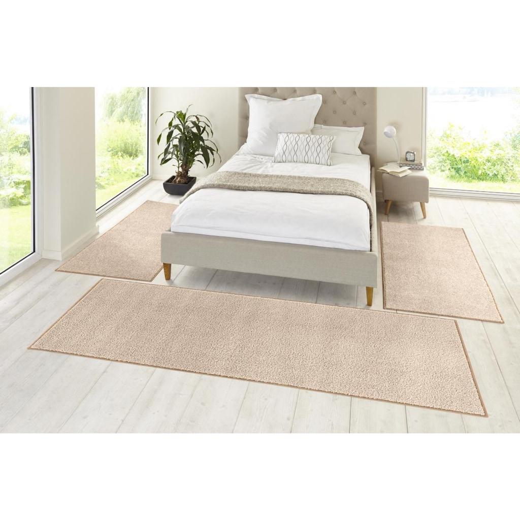 HANSE Home Bettumrandung »Pure 100«, Velours Haptik