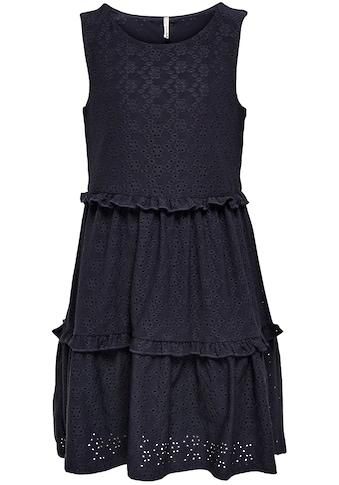 KIDS ONLY Sommerkleid »KONLINA«, mit Lochmuster kaufen