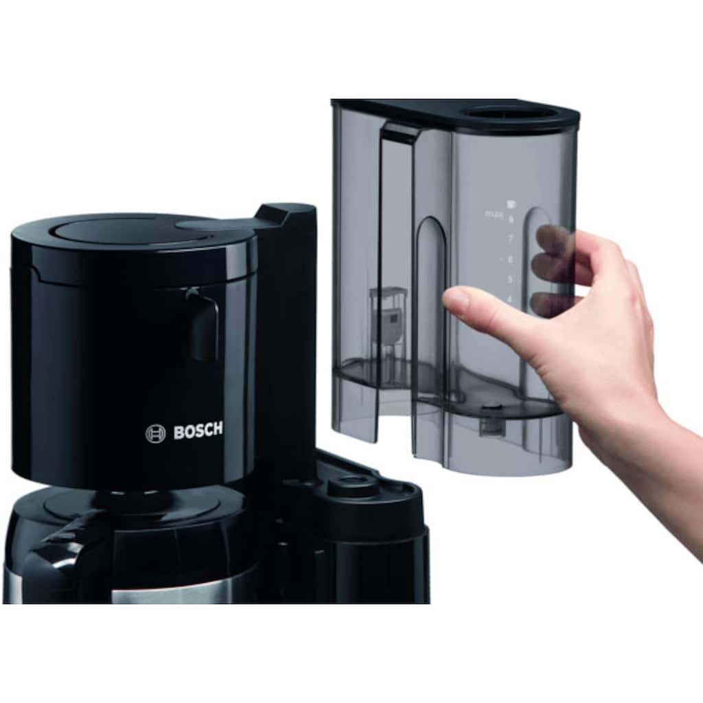 BOSCH Filterkaffeemaschine »TKA8A053 Styline«, Papierfilter, 1x4, mit Thermokanne