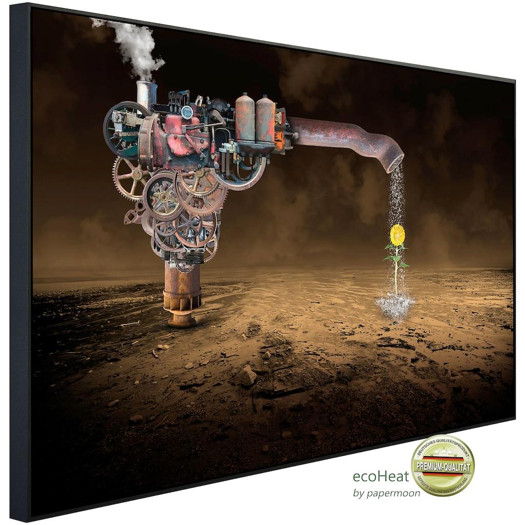 Papermoon Infrarotheizung »Surreale Regenmaschine«, sehr angenehme Strahlungswärme