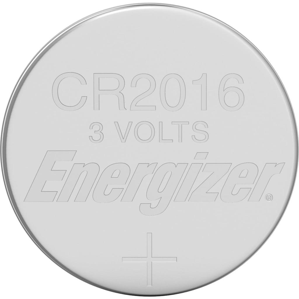 Energizer Batterie »Lithium CR-Typ 2016 4 Stück«, 3 V