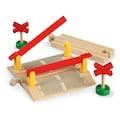 BRIO® Spielzeugeisenbahn-Erweiterung »BRIO® WORLD Bahnübergang«, FSC®-Holz aus gewissenhaft bewirtschafteten Wäldern