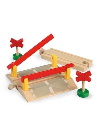 BRIO® Spielzeugeisenbahn-Erweiterung »BRIO® WORLD Bahnübergang«, FSC®-Holz aus... kaufen