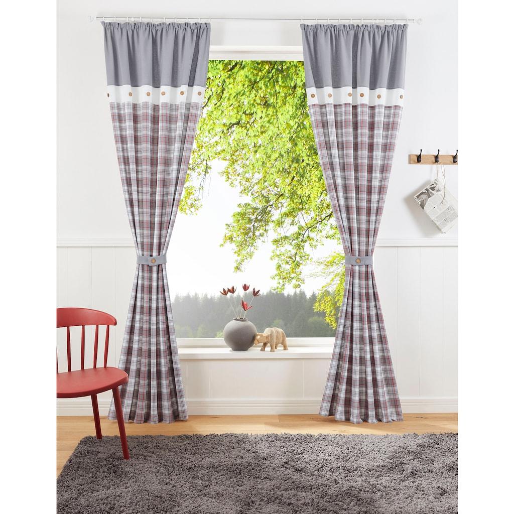 my home Vorhang »Linda«