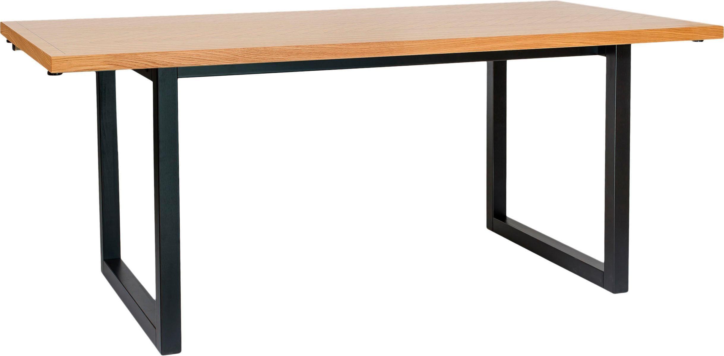 Woodman Esstisch Camden, aus massiver Birke, Breite 180 cm braun Holz-Esstische Holztische Tische