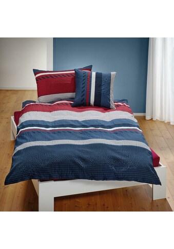 TRAUMSCHLAF Bettwäsche »Mick«, ideale Sommerbettwäsche in herrlicher Seersucker Qualität kaufen