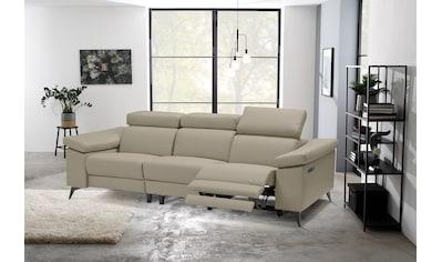 Places of Style 3-Sitzer »Samira«, mit elektrischer Relaxfunktion in einem Sitz und... kaufen