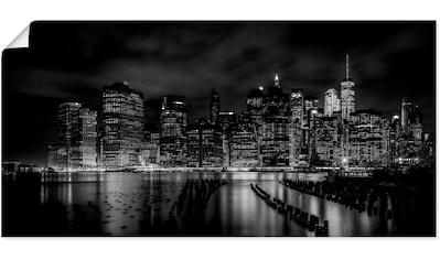 Artland Wandbild »New York City I«, Amerika, (1 St.), in vielen Größen & Produktarten... kaufen