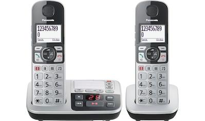 Panasonic Seniorentelefon »KX-TGE522«, (Mobilteile: 2 ), inkl. Anrufbeantworter kaufen