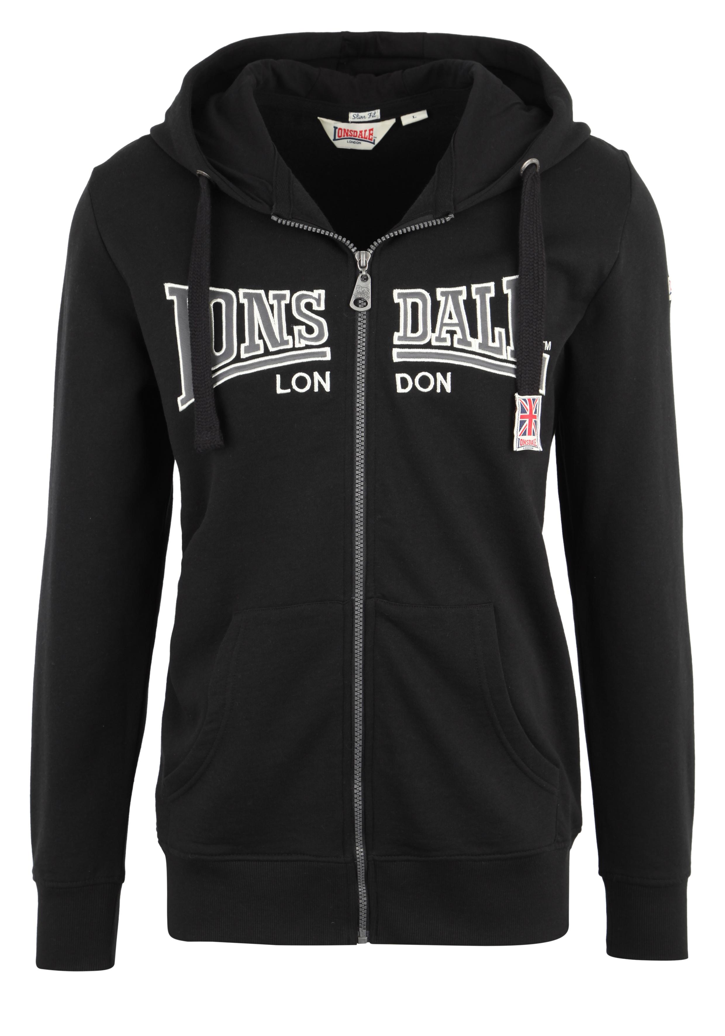 Lonsdale Sweatjacke mit Markendruck ALTHORP | Bekleidung > Sweatshirts & -jacken > Sweatjacken | Lonsdale