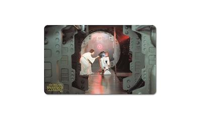 LOGOSHIRT Frühstücksbrettchen mit Leia und R2-D2-Motiv kaufen