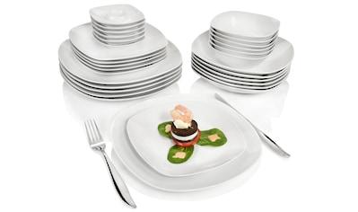 SÄNGER Tafelservice »Bilgola«, (30 tlg., Geschirrservice Bilgola aus Porzellan 30 teilig) kaufen