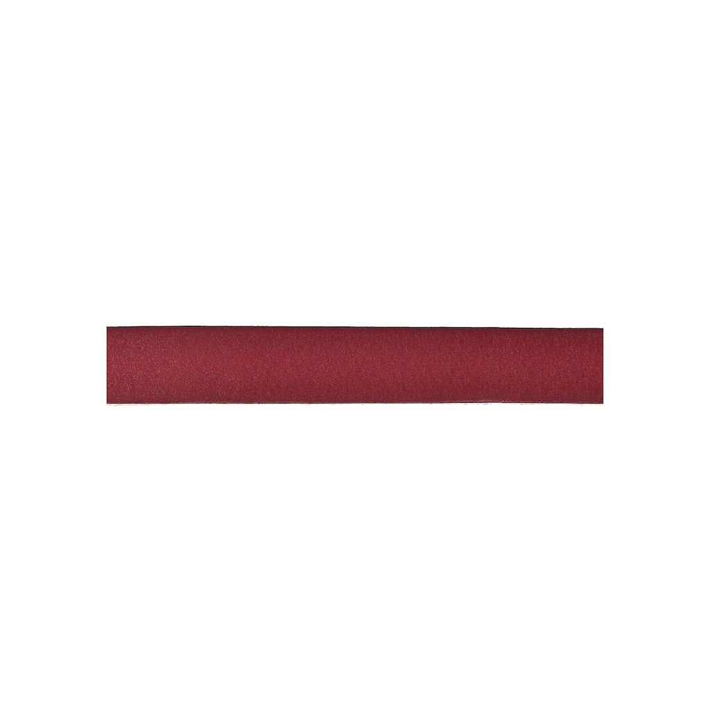 Vanzetti Ledergürtel, Überlänge, lässige Spitze zum Knoten