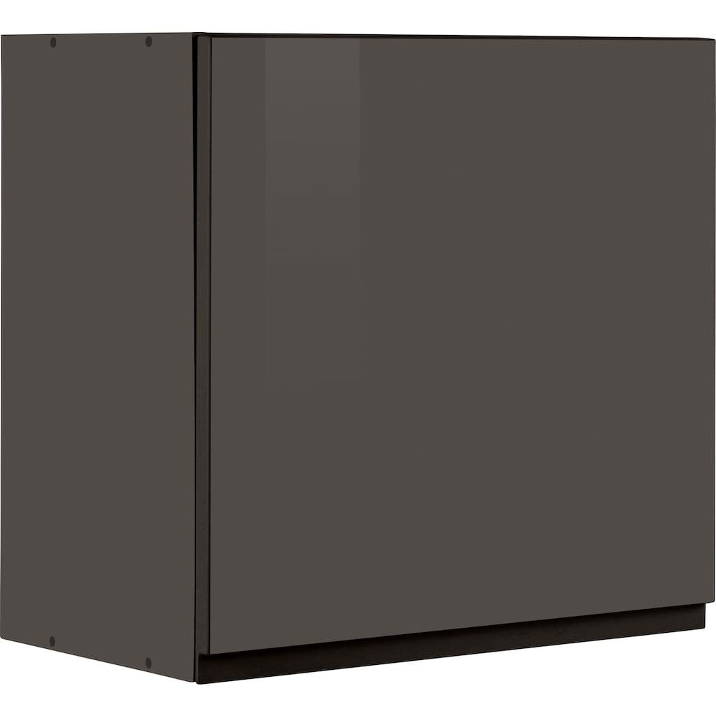 HELD MÖBEL Hängeschrank »Virginia«, 57 cm hoch, 60 cm breit, 1 Tür, 1 Einlegeboden, hochwertige MDF-Fronten, griffloses Design