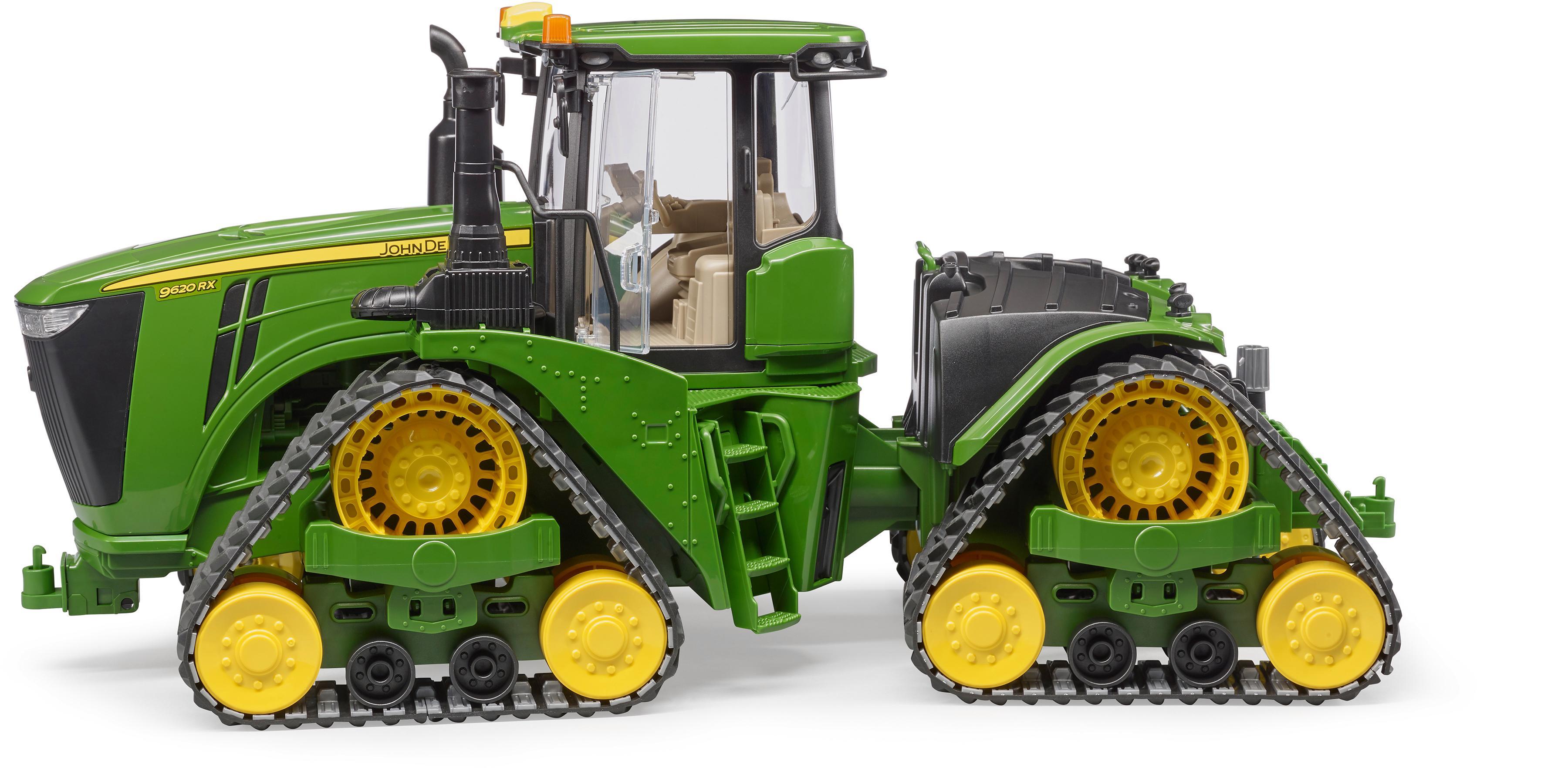 Bruder Spielzeug Traktor John Deere 9620rx Mit Raupenlaufwerk