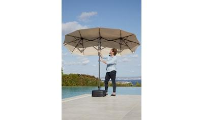 garten gut Sonnenschirm »Malaga«, Inkl. Schutzhülle, ohne Schirmständer kaufen