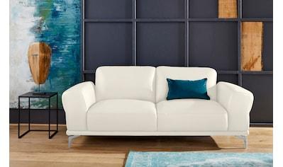 W.SCHILLIG 2-Sitzer »montanaa«, mit Metallfüßen in Silber matt, Breite 192 cm kaufen