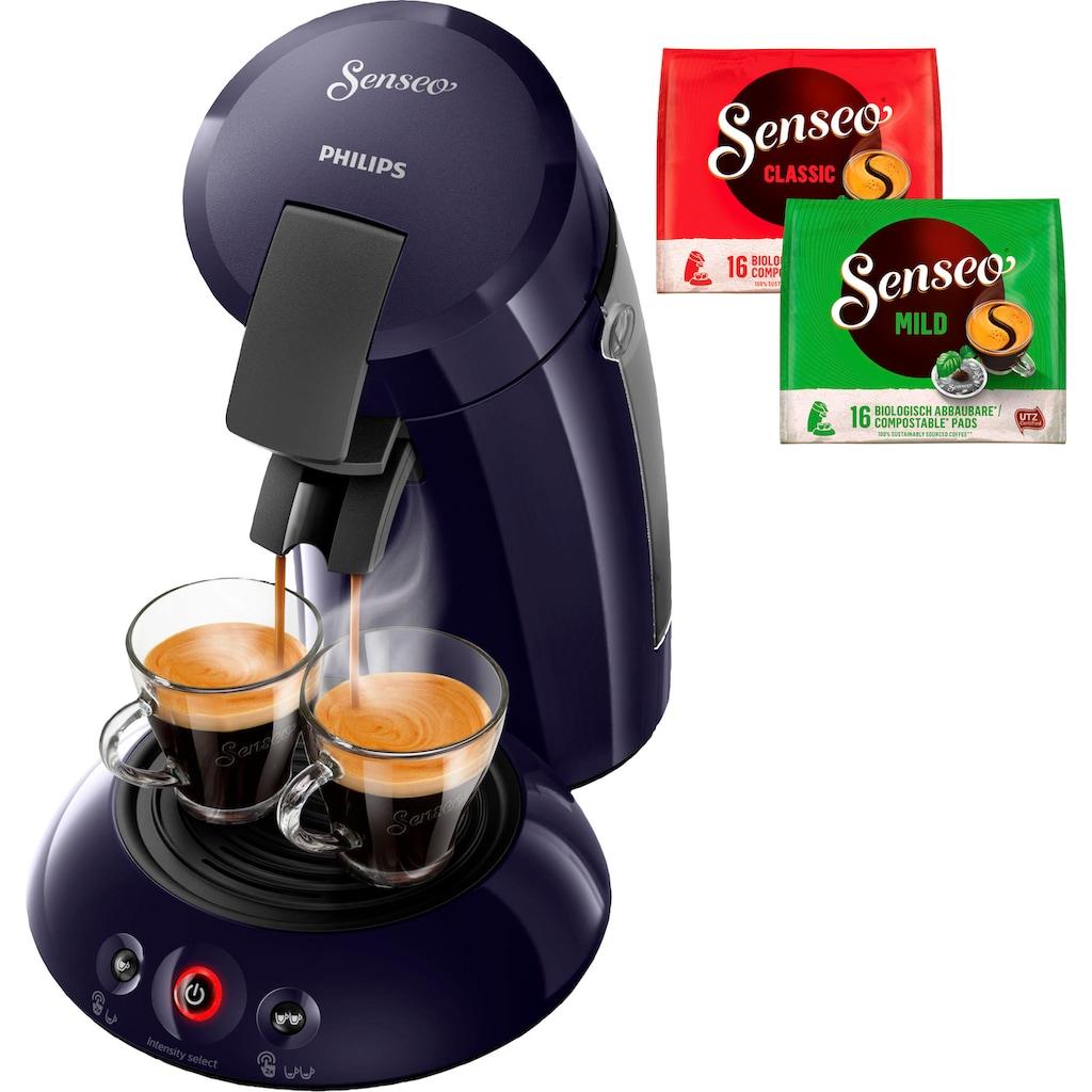 Senseo Kaffeepadmaschine »HD6554/40 New Original«, inkl. Gratis-Zugaben im Wert von 5,- UVP