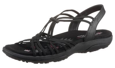 Skechers Sandale »REGGAE SLIM«, mit Gummibändern zum Schlupfen kaufen