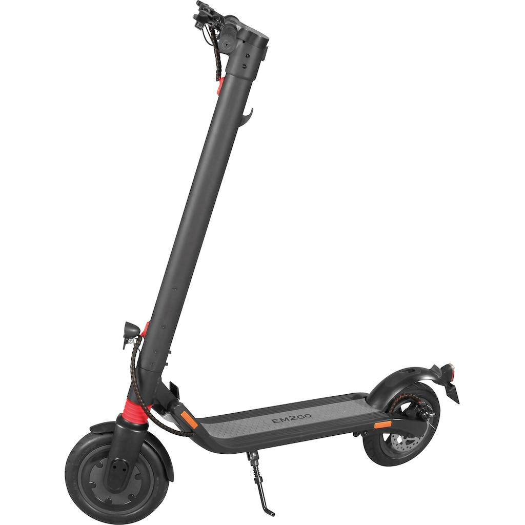D-Parts EM2GO E-Scooter »EM2GO E-Scooter FW106ST mit Straßenzulassung, 5.2 Ah Akku«