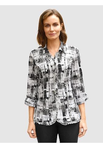 Paola Crinklebluse, mit abnehmbarer Schmuckkette kaufen